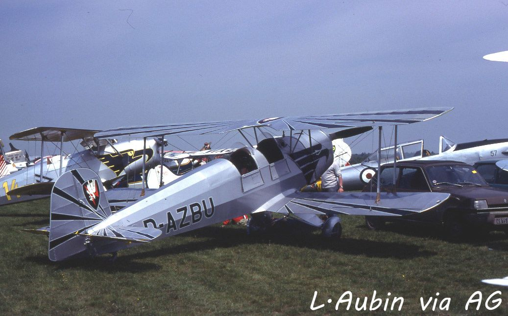 Le Bucker 131 Jungmann F-AZBU (photo L.Aubin via AG)