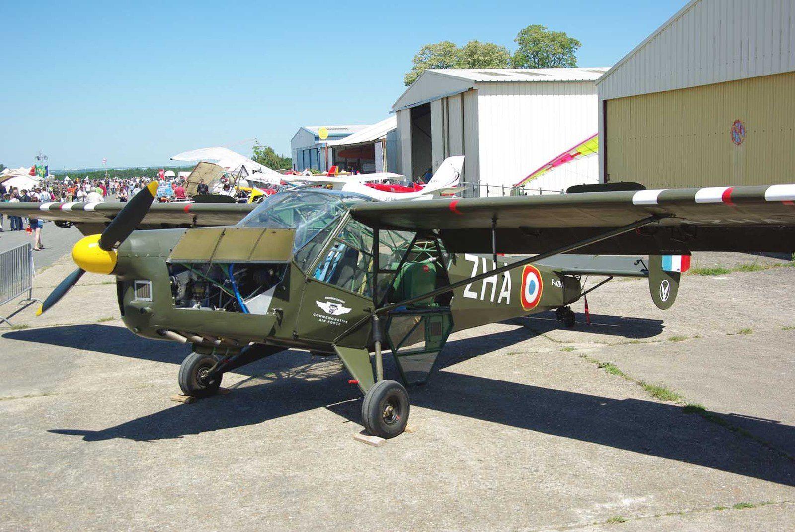 Le SNCAC NC-856A Norvigie N°25 F-AZHA du French Wings de la CAF.