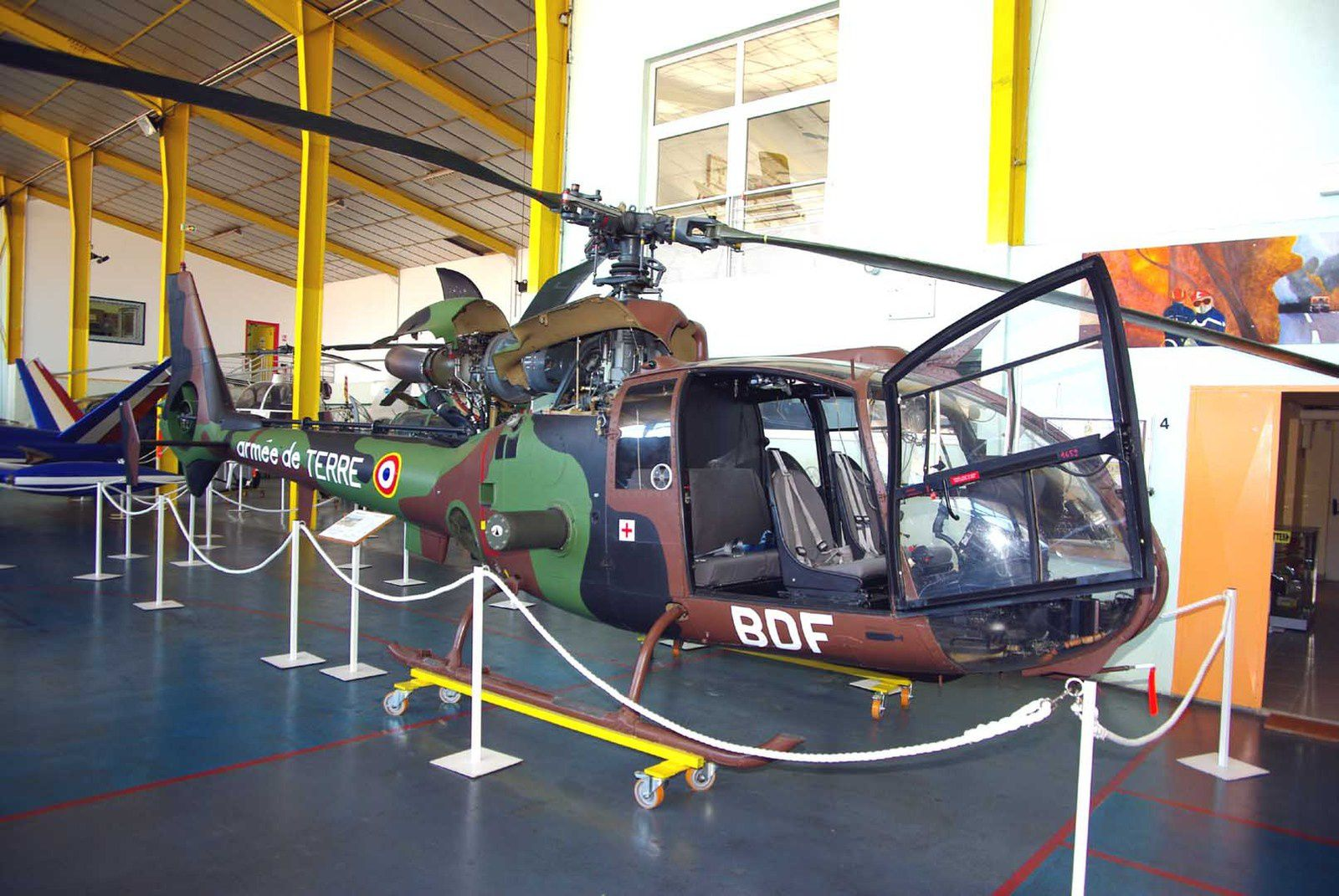 Aérospatiale SA-341F2 Gazelle N°1387 (BDE) de l'ALAT.