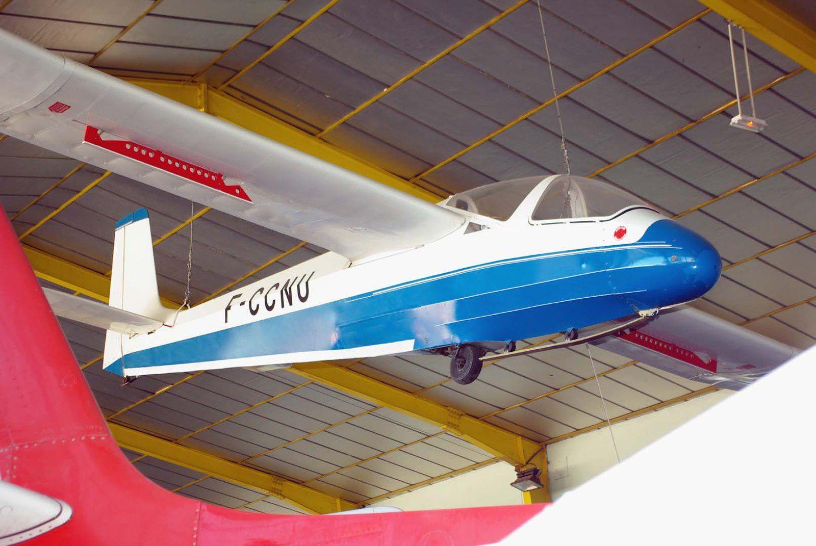 Le planeur Wassmer WA-30 Bijave N°71 F-CCNU.