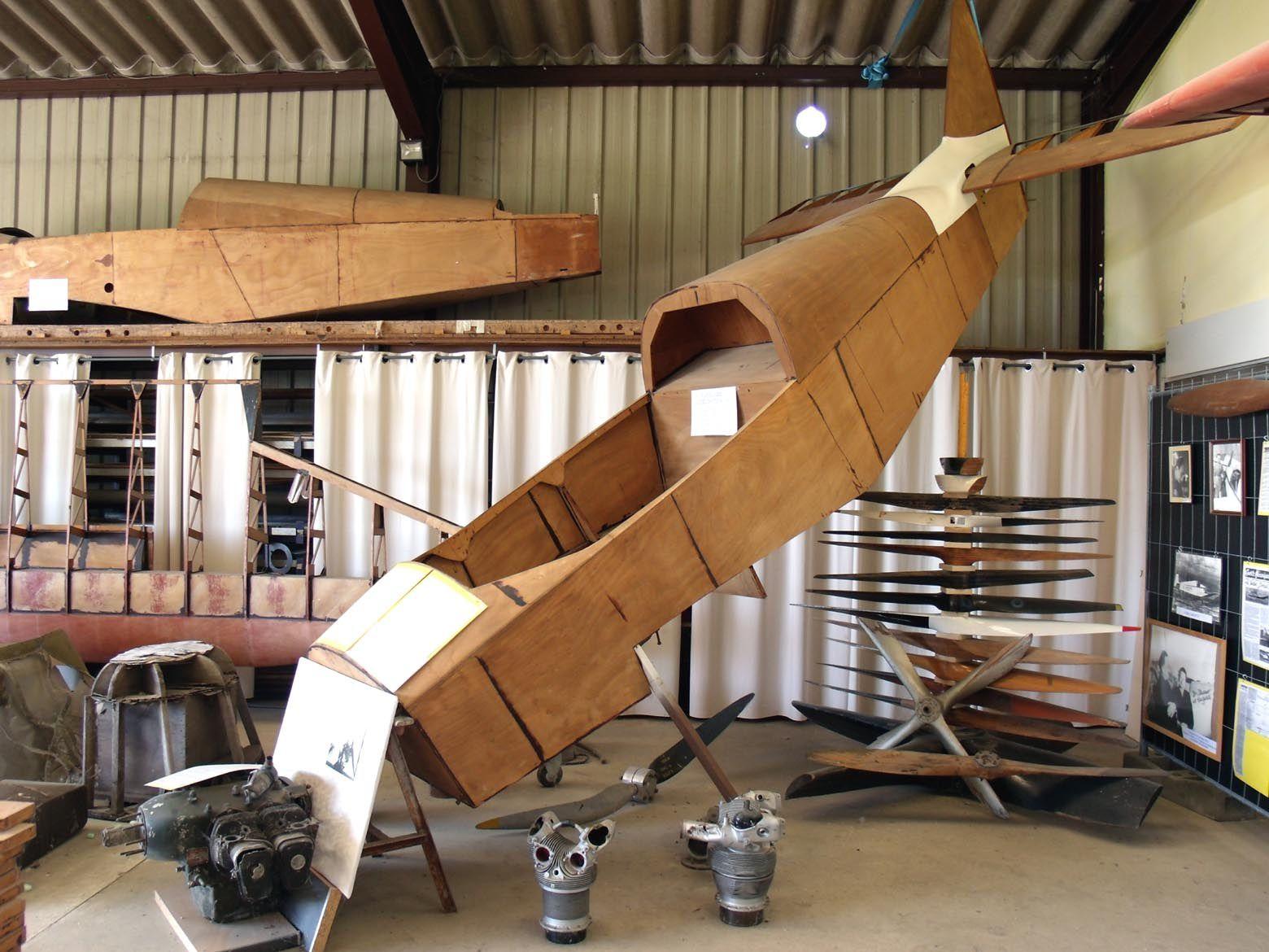 Fuselage du Jodel D-173 N°01 quadriplace étudié en 1976 par Jean Delemontez.
