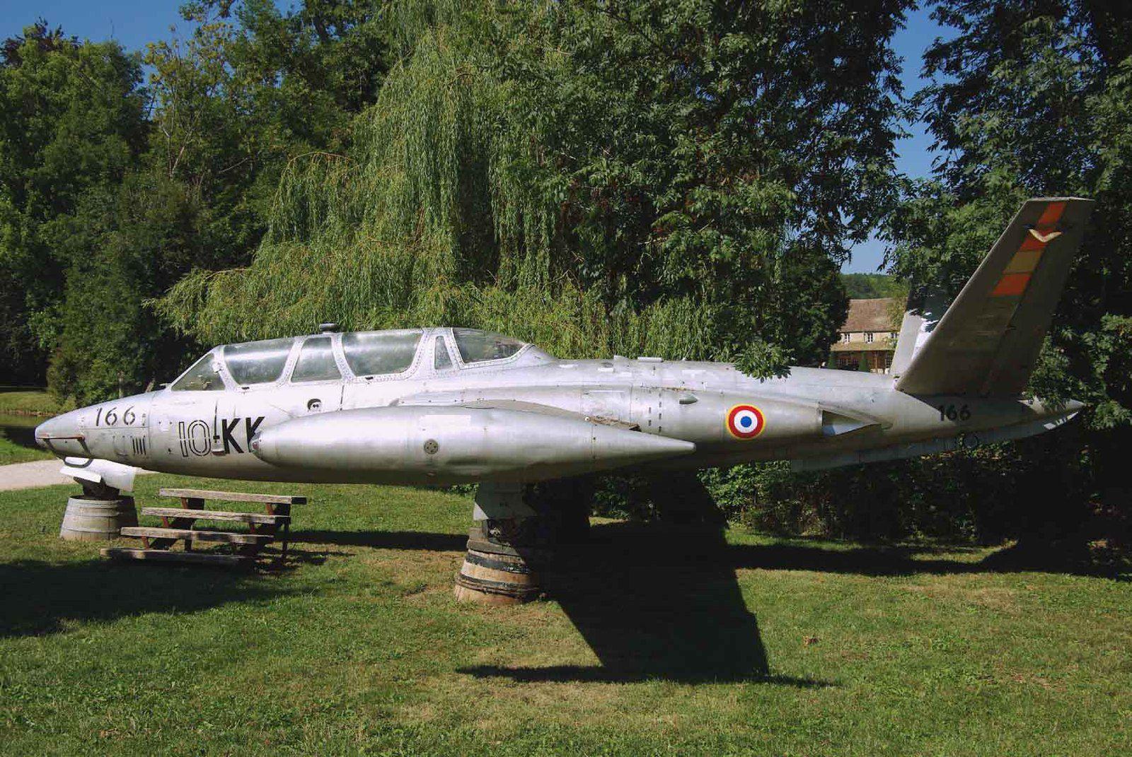 Le Fouga CM-170 Magister N°166.