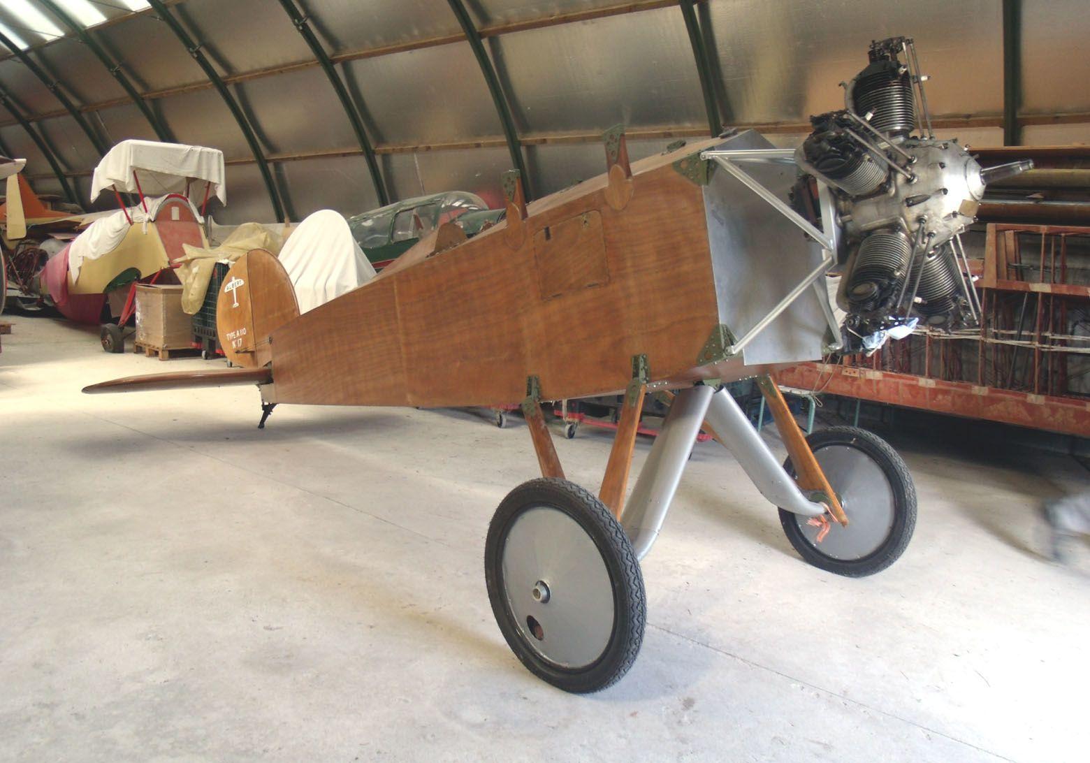 Le Albert A-110 N°17 F-AZNJ