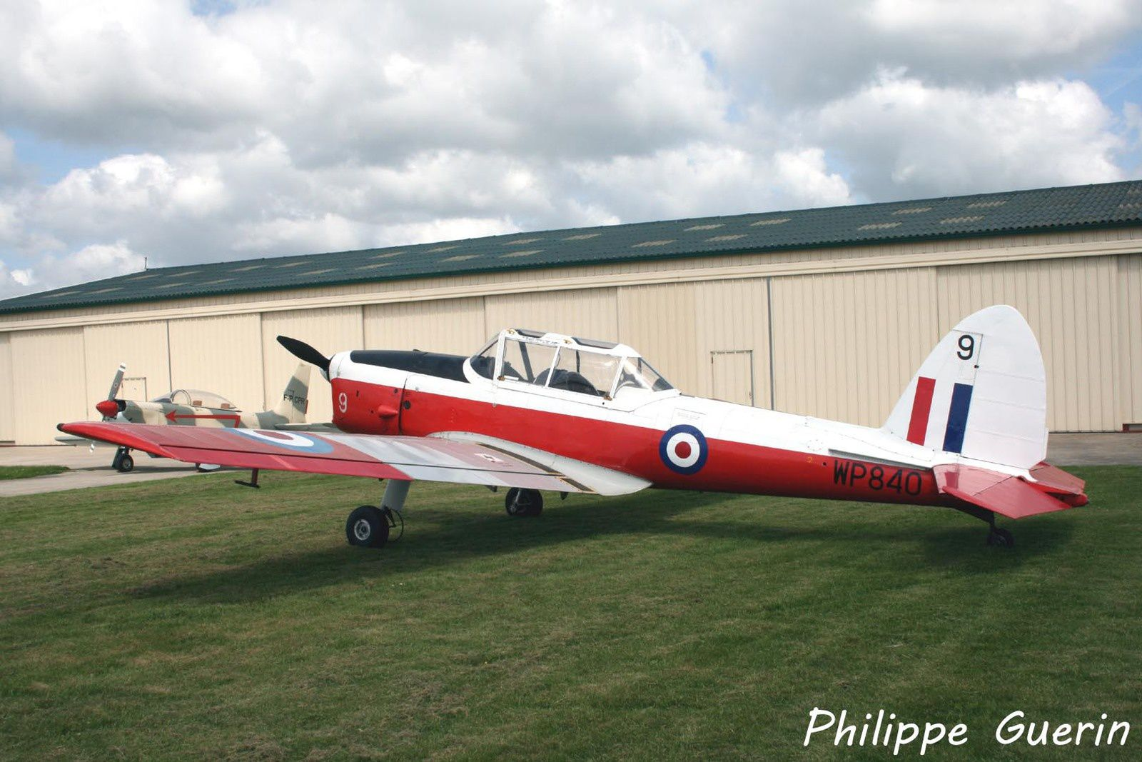 Le DHC-1 Chipmunck WP840 F-AZQM (Photo Philippe Guerin)