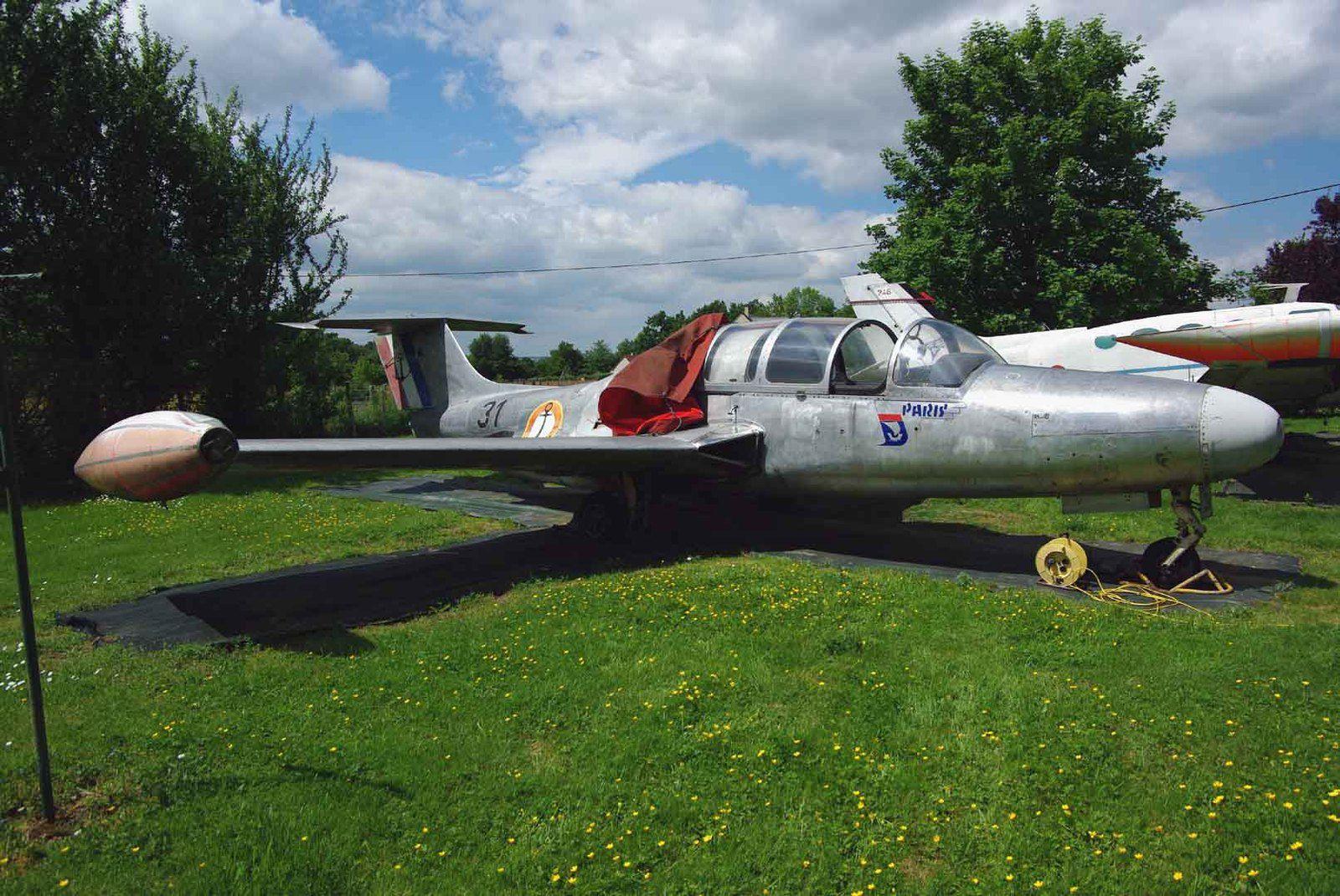 Restauré, avec autant de ferveur que le Mirage IIIR, le Morane 760 Paris N°31 est superbe.