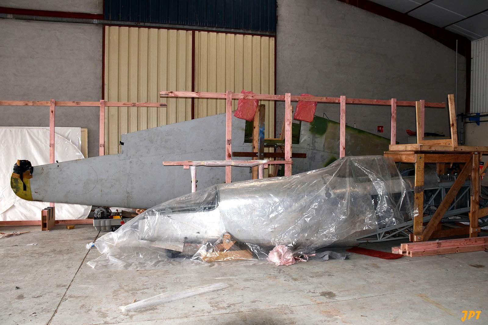 Le Yak 3 F-AYAK de Edmond Salis. (photo: Jean pierre Touzeau)