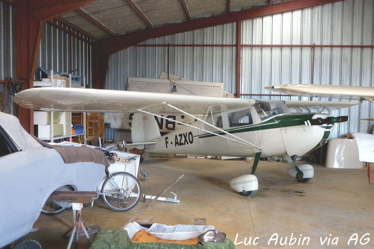 Le Cessna 140 F-AZXO (Photo: Luc Aubin via AG).