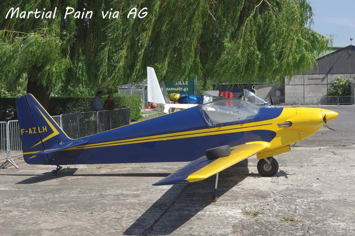 Le Fournier RF-3 F-AZLH (Photo: Martial Pain via AG).