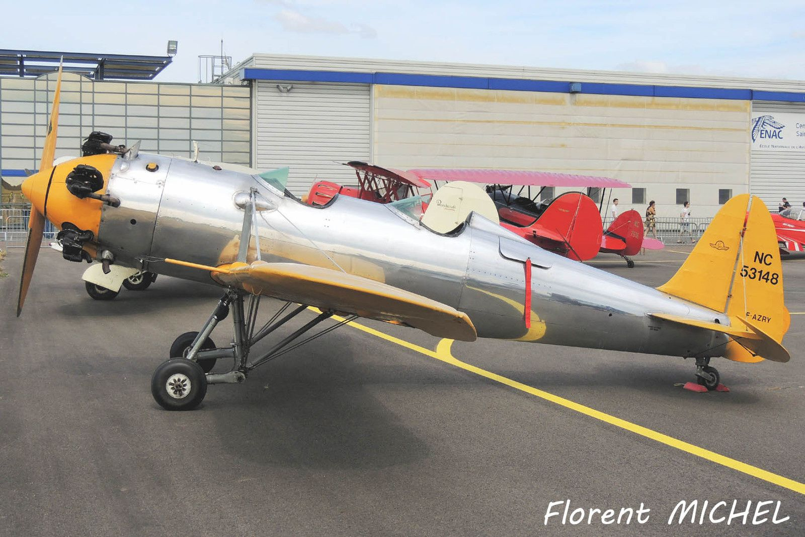 Le Ryan PT-22 Recruit F-AZRY. (Photo: Florent Michel)