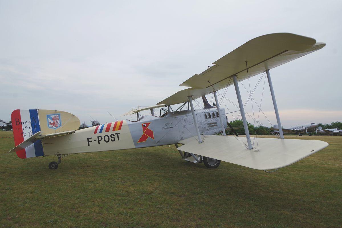 Ce fut également le grand retour du Breguet XIV, désormais immatriculé F-POST.