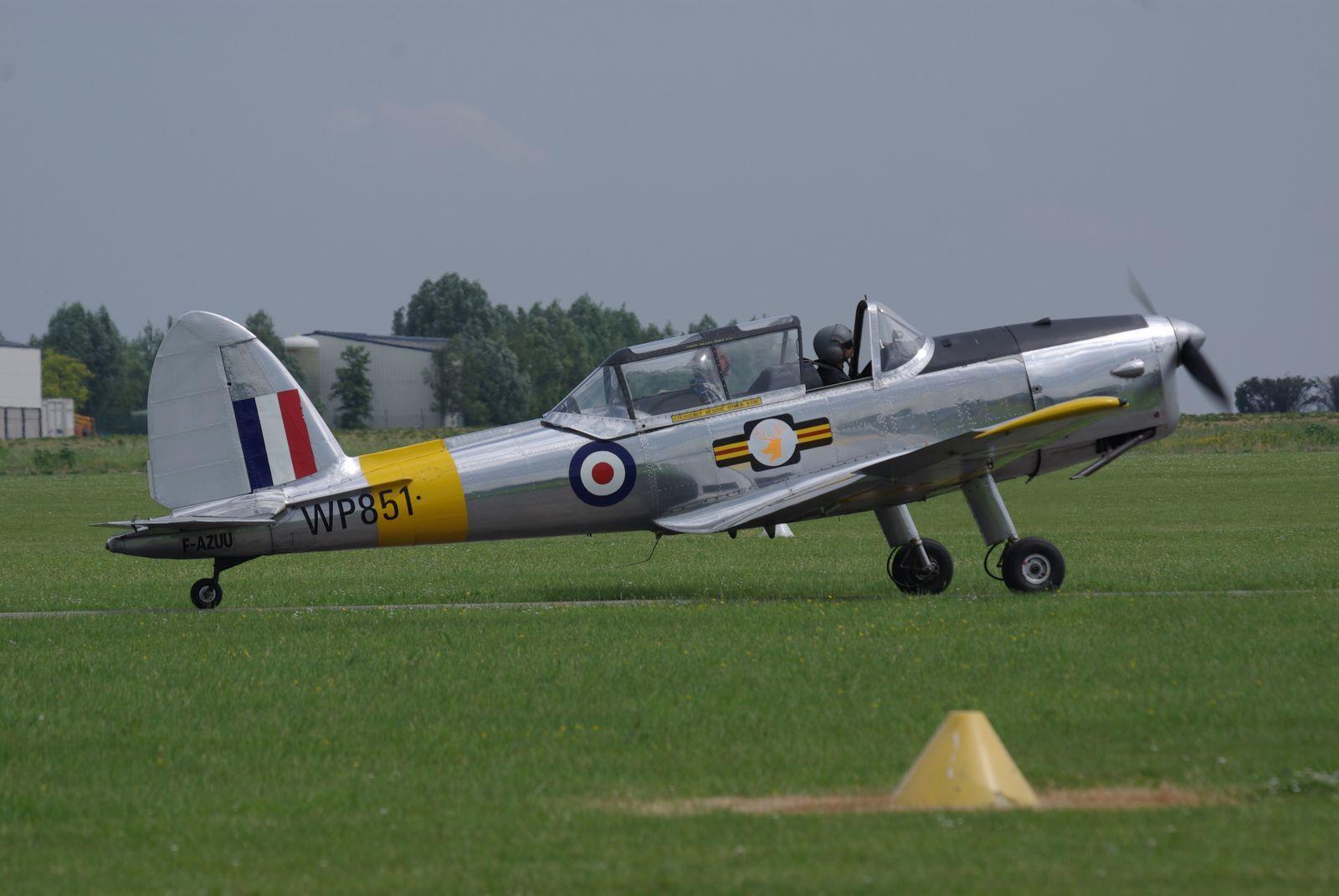 Le De Havilland DHC1 Chipmunck F-AZUU.
