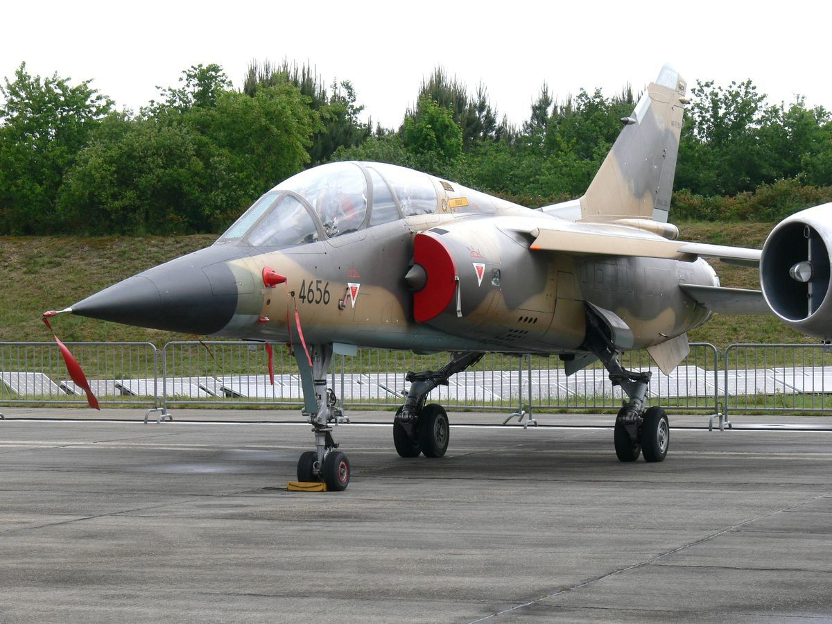 Cet avion, tout neuf, est le Mirage F1BQ 4656 jamais livré à l'Irak pour cause d'embargo. (Photo: Laurent Lamouche)