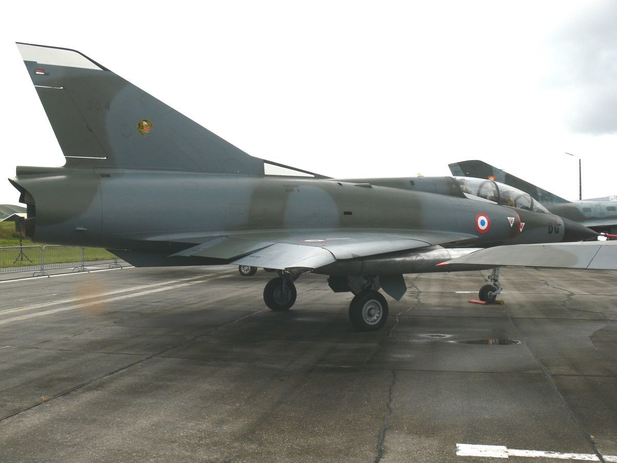 Le Dassault Mirage IIIB N°204. (Photo: Laurent Lamouche)