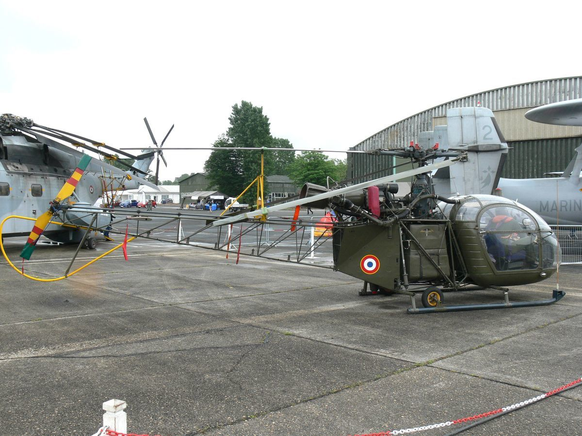 L'Aérospatiale SE-3130 Alouette II N°182. (Photo: Laurent Lamouche)