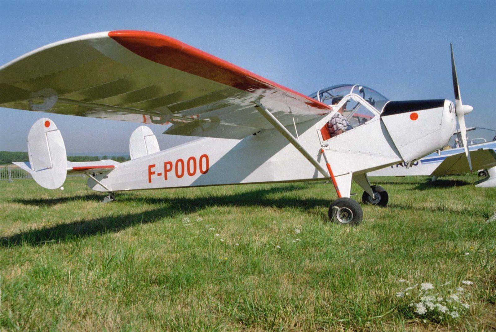 Le NC-858S N°78 F-POOO vu lors d'un rassemblement du RSA.