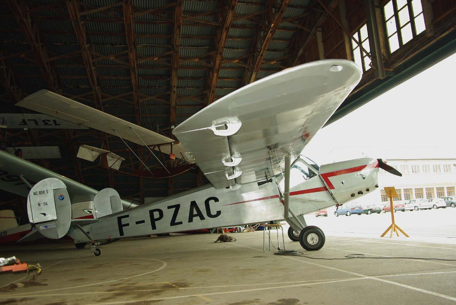 L'unique NC-859 N°04 F-PZAC basé à la Montagne Noir.