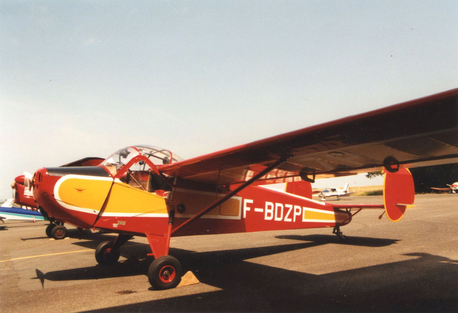 Le NC-858S N°6 F-BDZP du musée d'Angers.