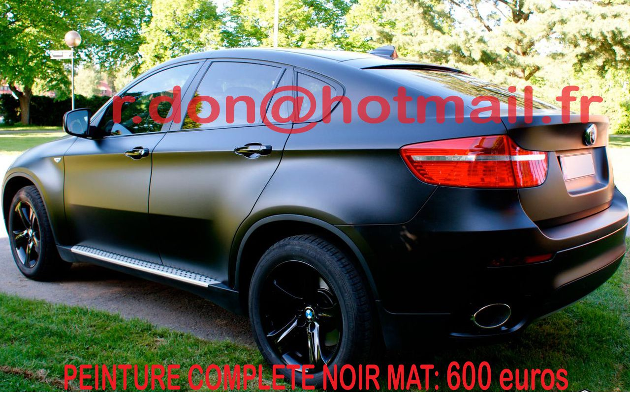 bmw x6 bmw x6 bmw x6 total covering noir mat bmw x6 peinture covering noir mat bmw x6. Black Bedroom Furniture Sets. Home Design Ideas