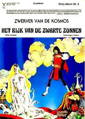 zwerver van de kosmos - axel moonshine - comics - strip-album - arboris B.V.