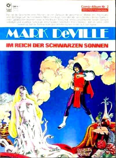 Pilot - logo edition allemande - mark de ville - agent der sterne - condor - comic-album