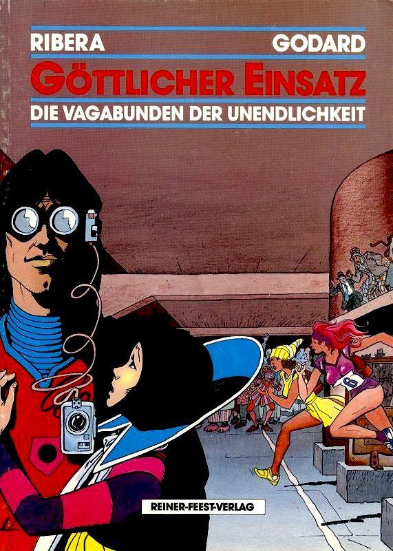 vagabunden die unendlichkeit - axel munshine - reiner-feest-verlag - feest comics - arboris