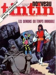 journal tintin - vagabond des limbes - demons du temps immobile
