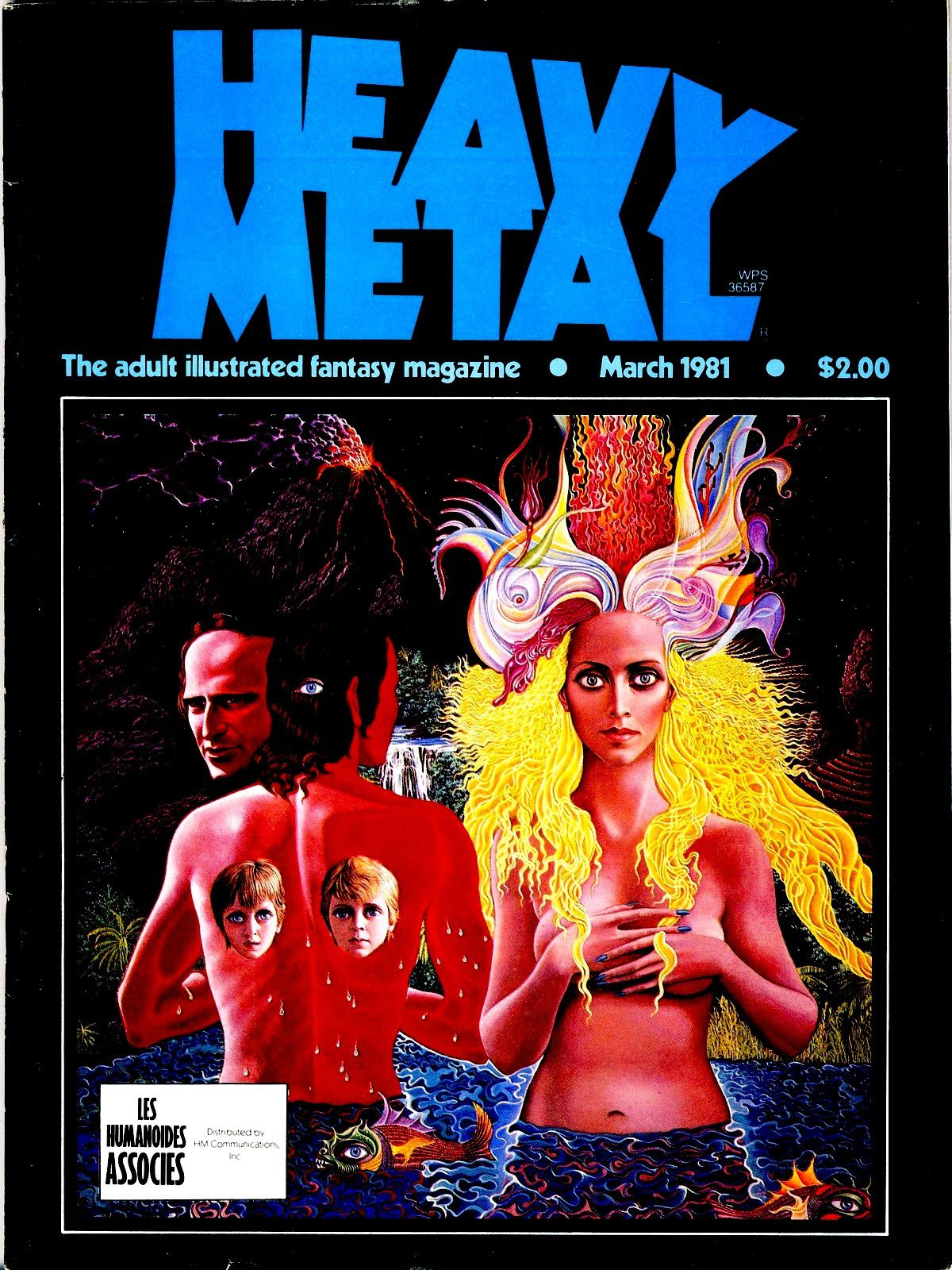 vagabond of limbo - what is reality papa - heavy metal magazine - vol.4 dec 80 - vol. 5 april 1981