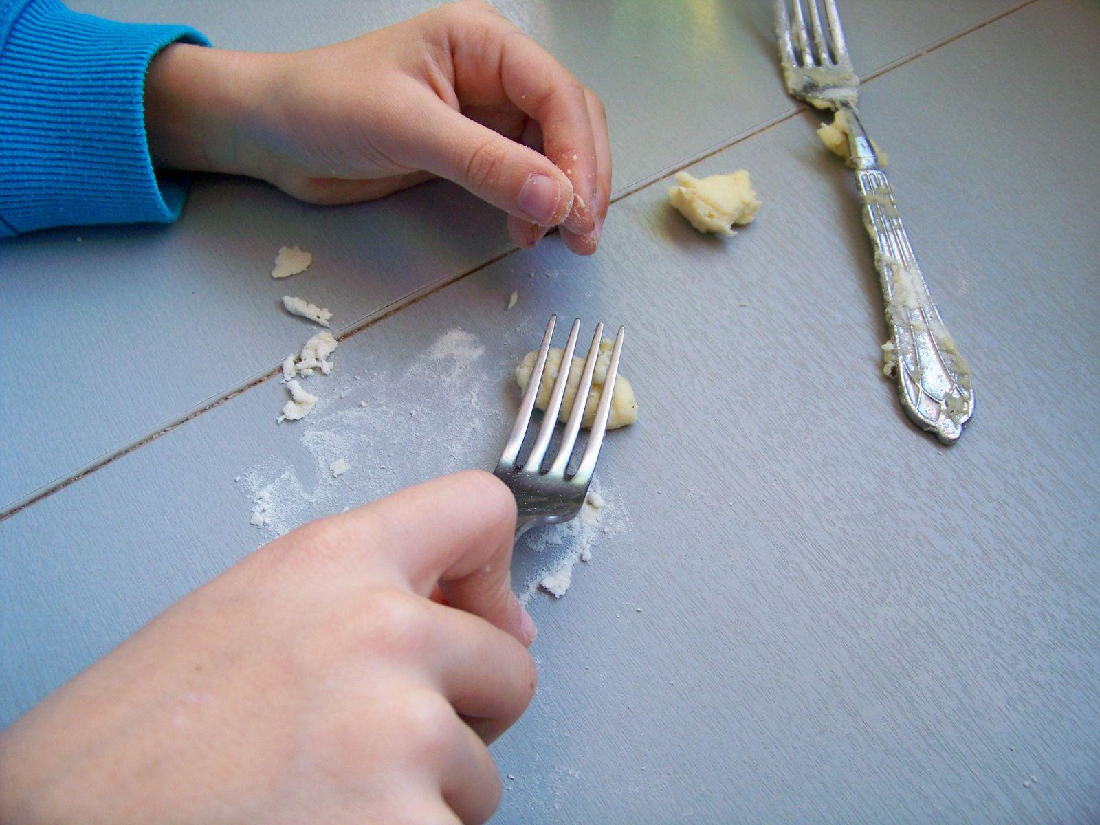 Aujourd'hui , on tente les gnocchis !