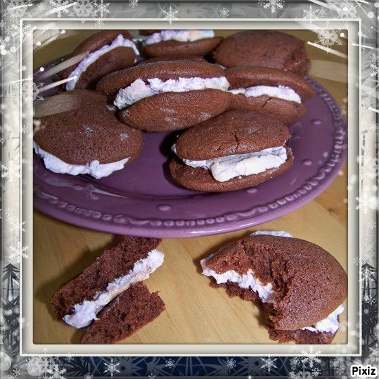 Whoopie Cakes aux guimauves