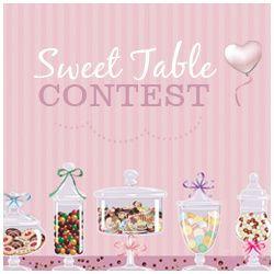 Je suis sélectionnée pour le Sweet Table Contest 2013!