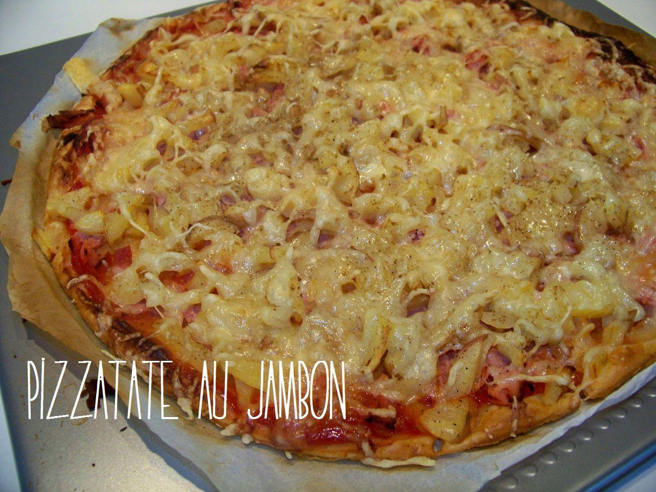 Pizzatate au jambon