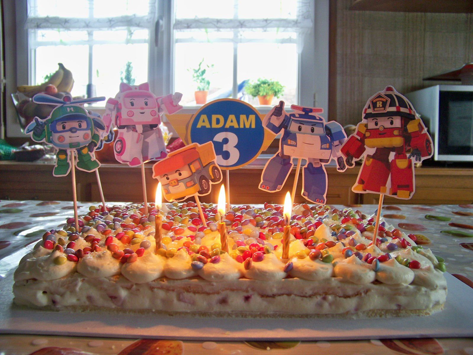 Merveilleux anniversaire mon champignon en sucre !