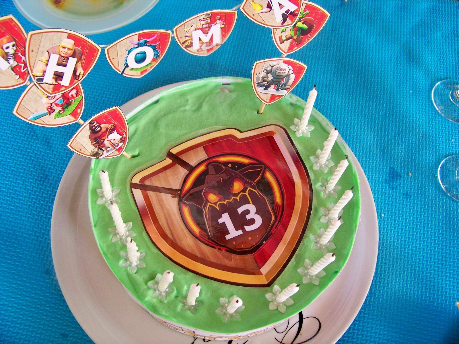 Gateau Clash of Clans