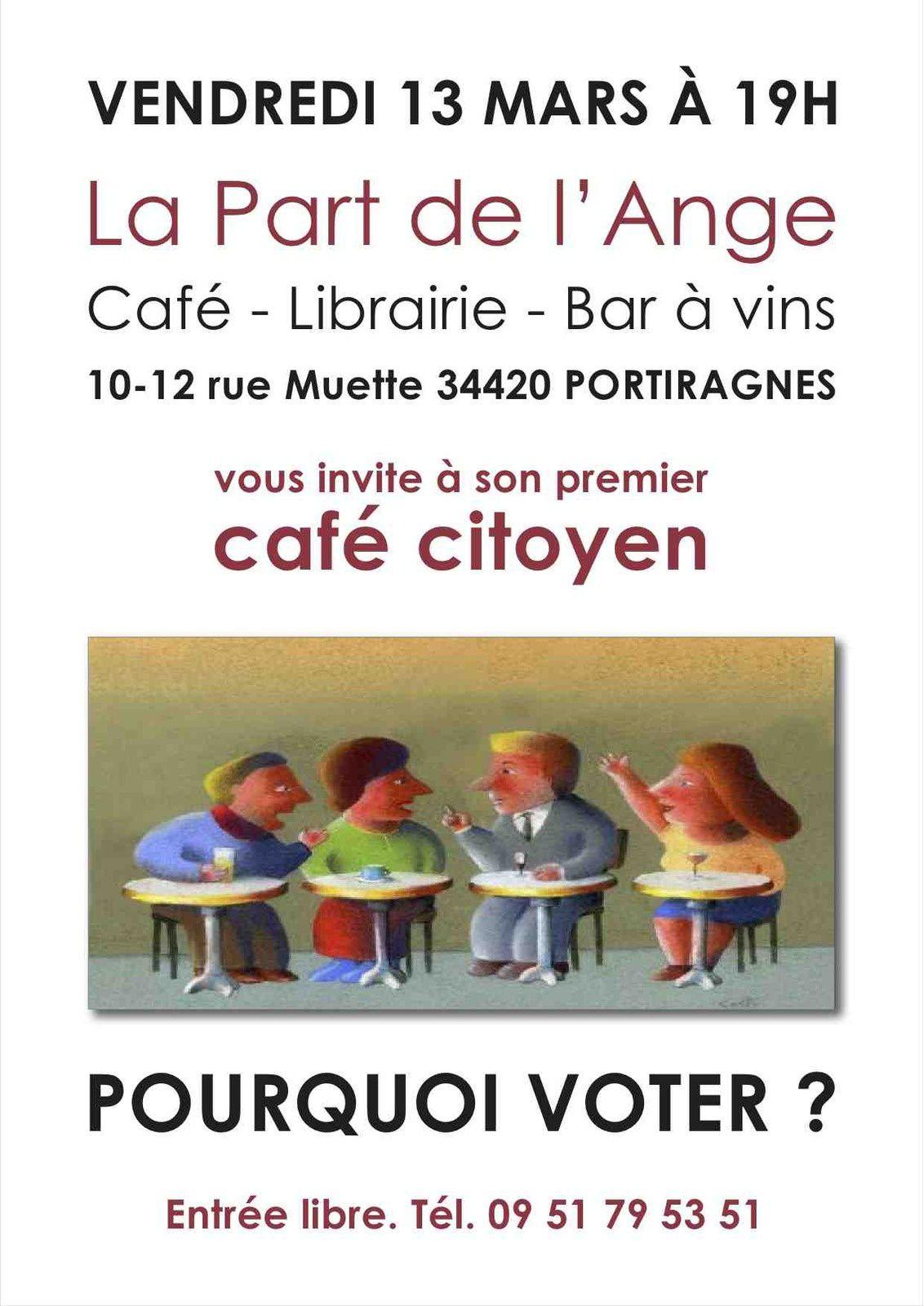 CAFE CITOYEN A LA PART DE L'ANGE