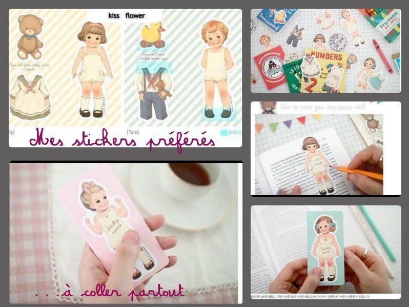 "Stickers ""Dolls"""