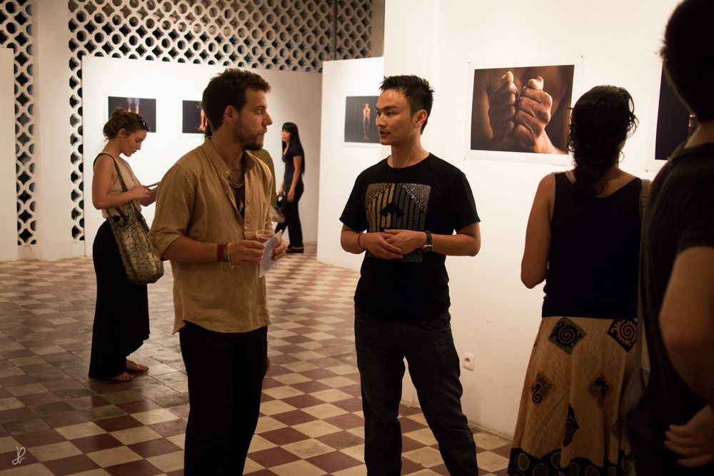 VERNISSAGE AU CENTRE BOPHANA // OPENING AT BOPHANA CENTER
