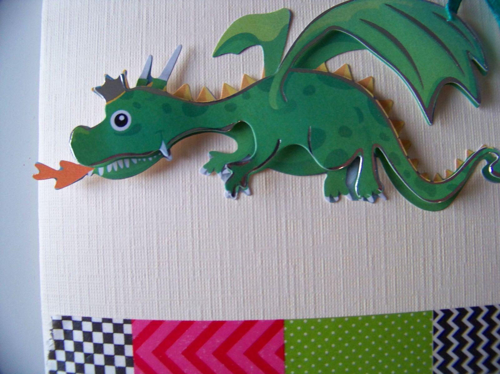 Le dragon qui plait généralement aux garçons !!!