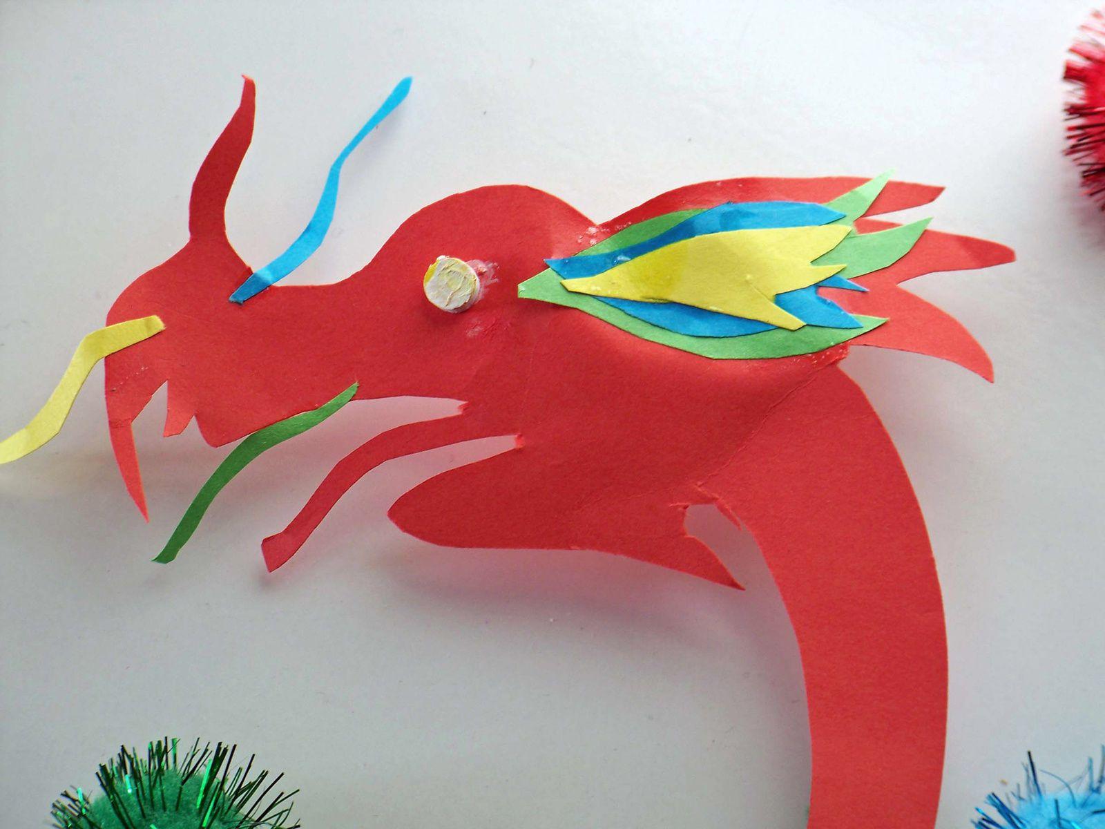 Un dragon pour le nouvel an chinois !