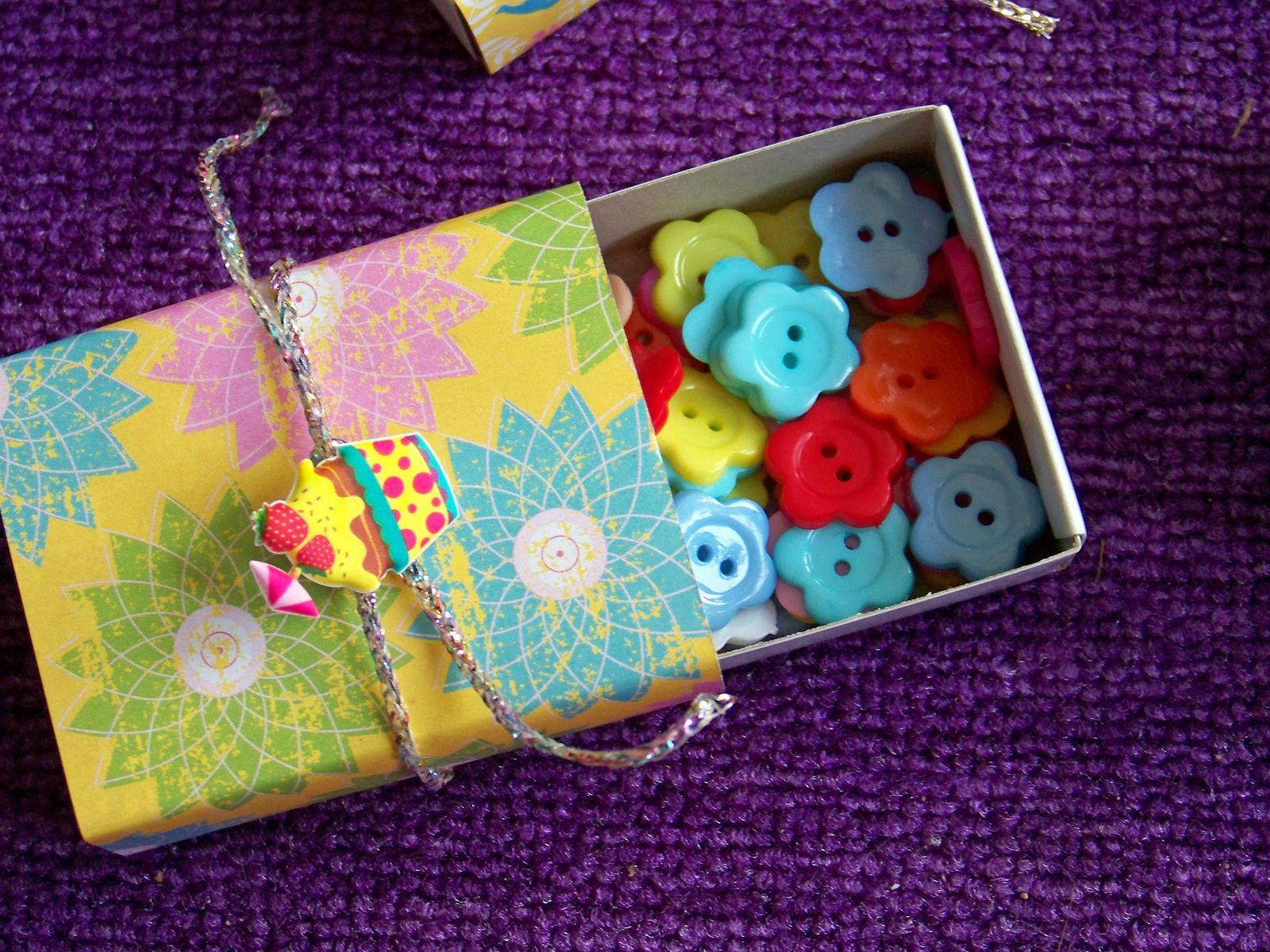 Les petites boîtes recyclées  !!!