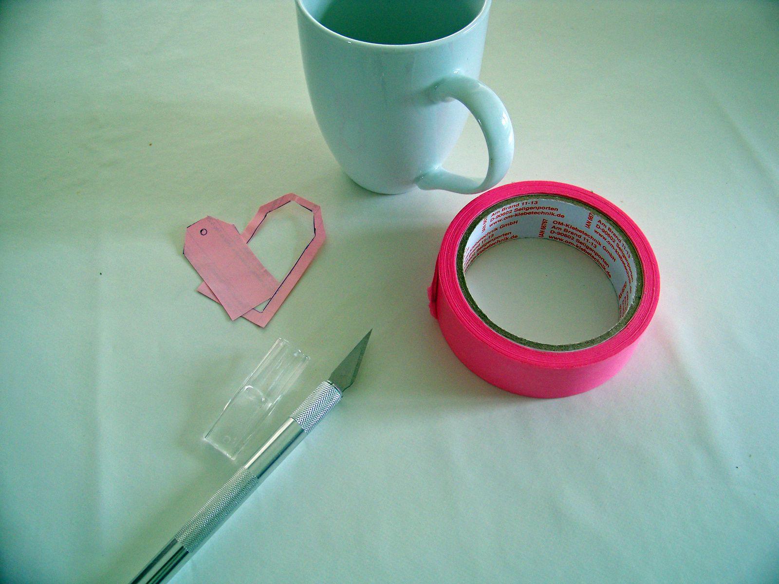 La tasse à thé annonce la couleur