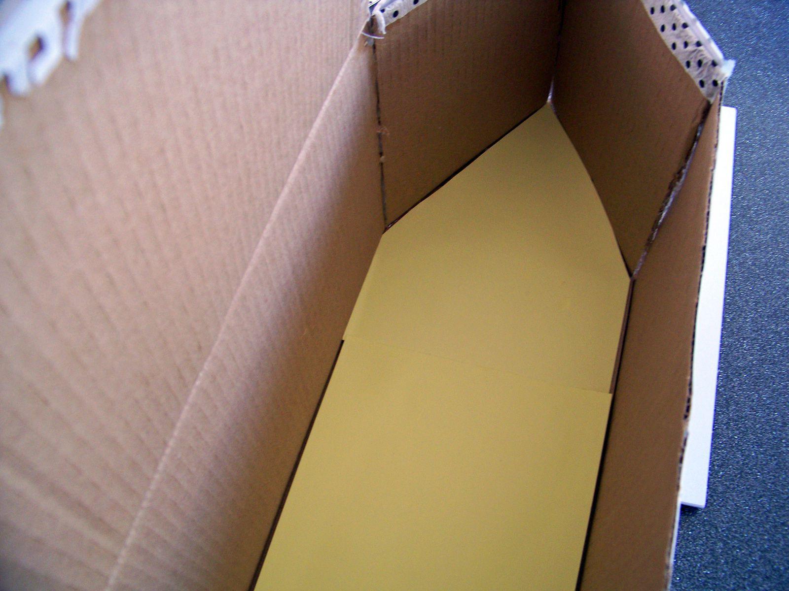 La maison en carton !