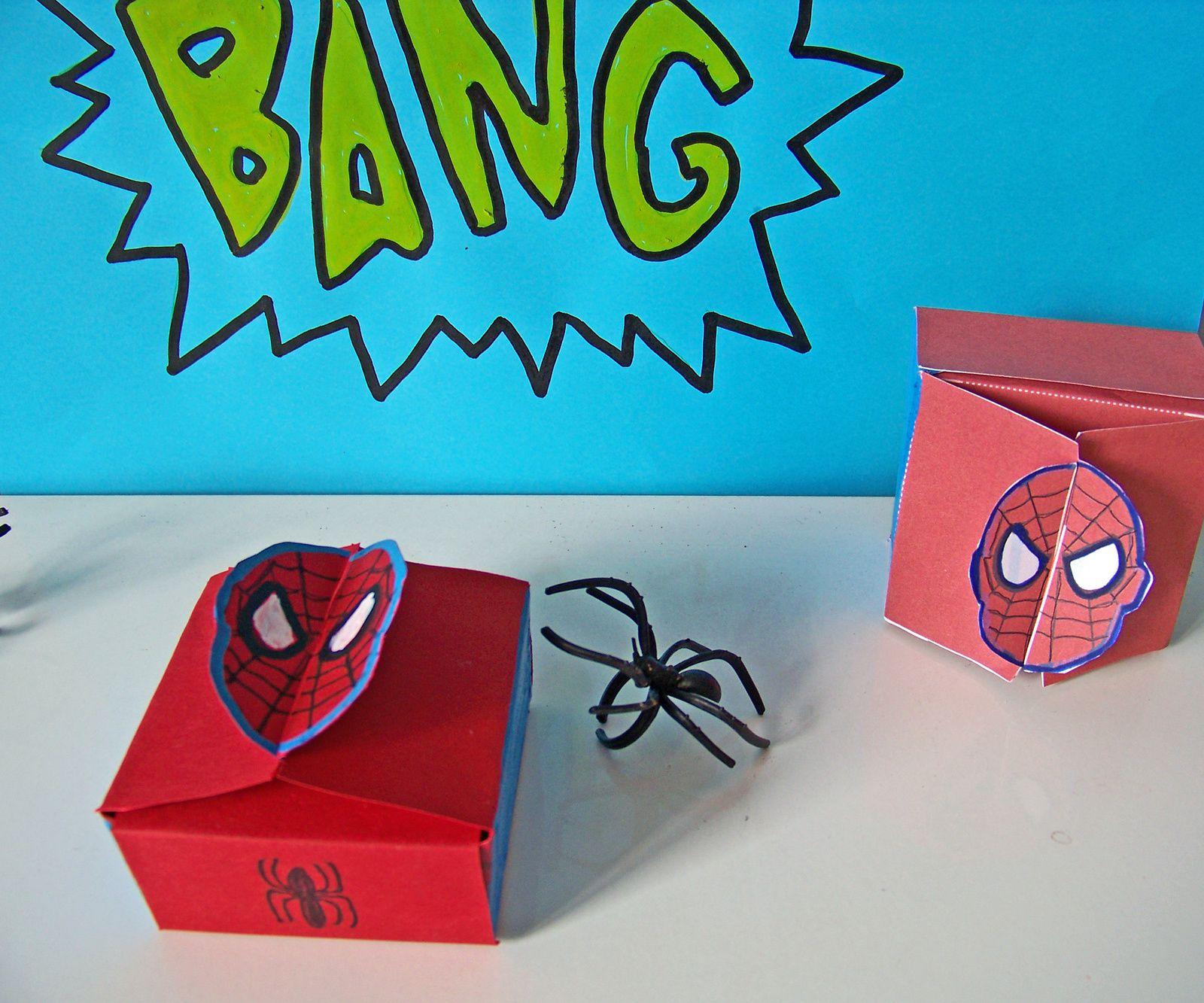 Boîtes super héros pour super papa !