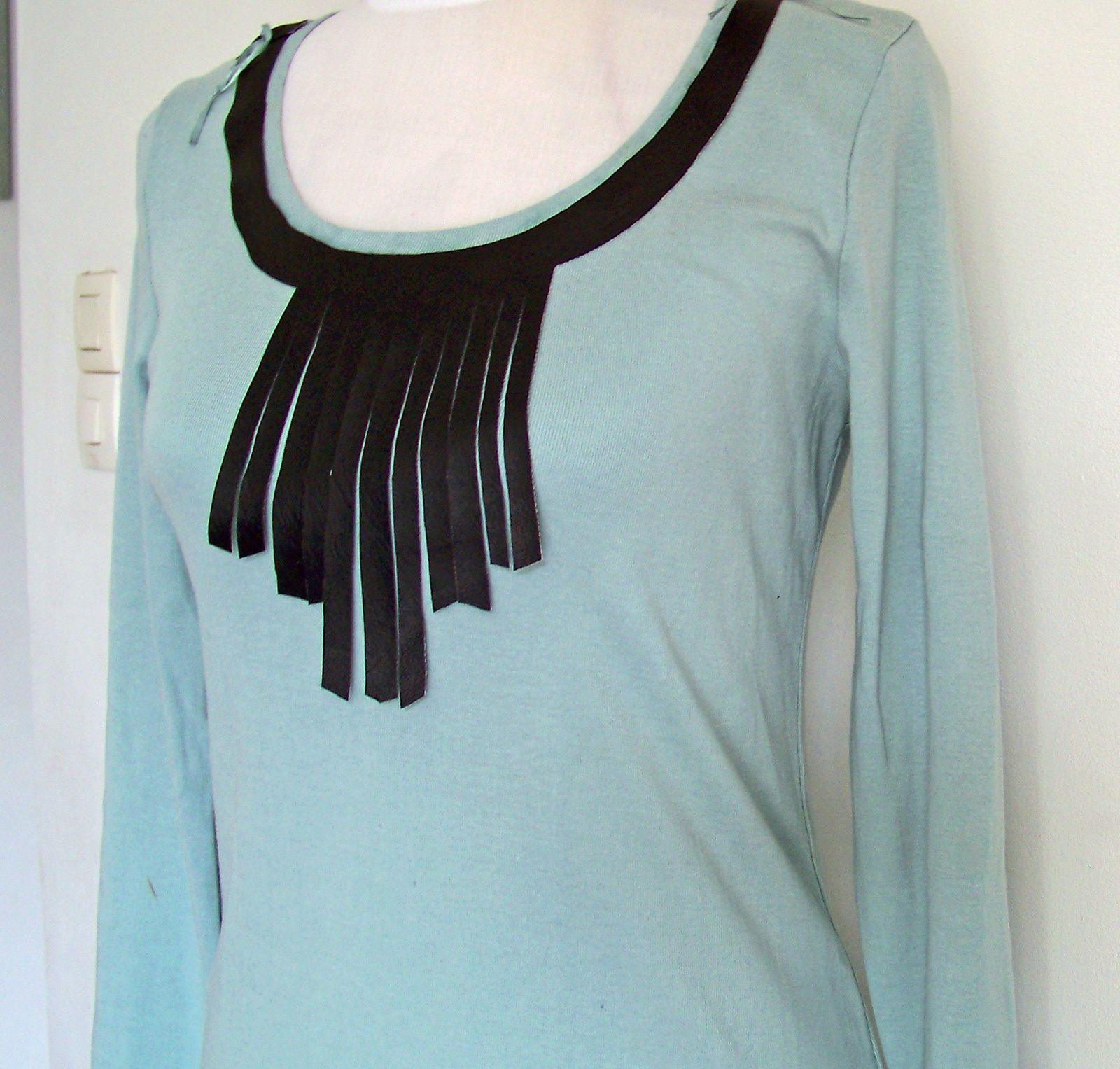 DIY:le tee-shirt à franges