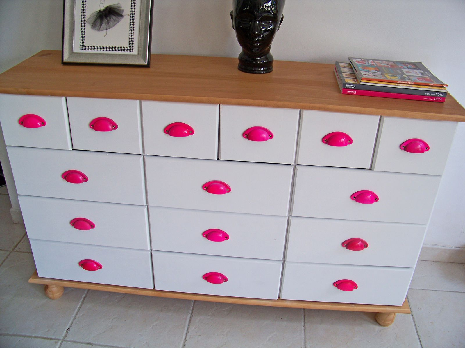 La commode transformée  le DIY  !