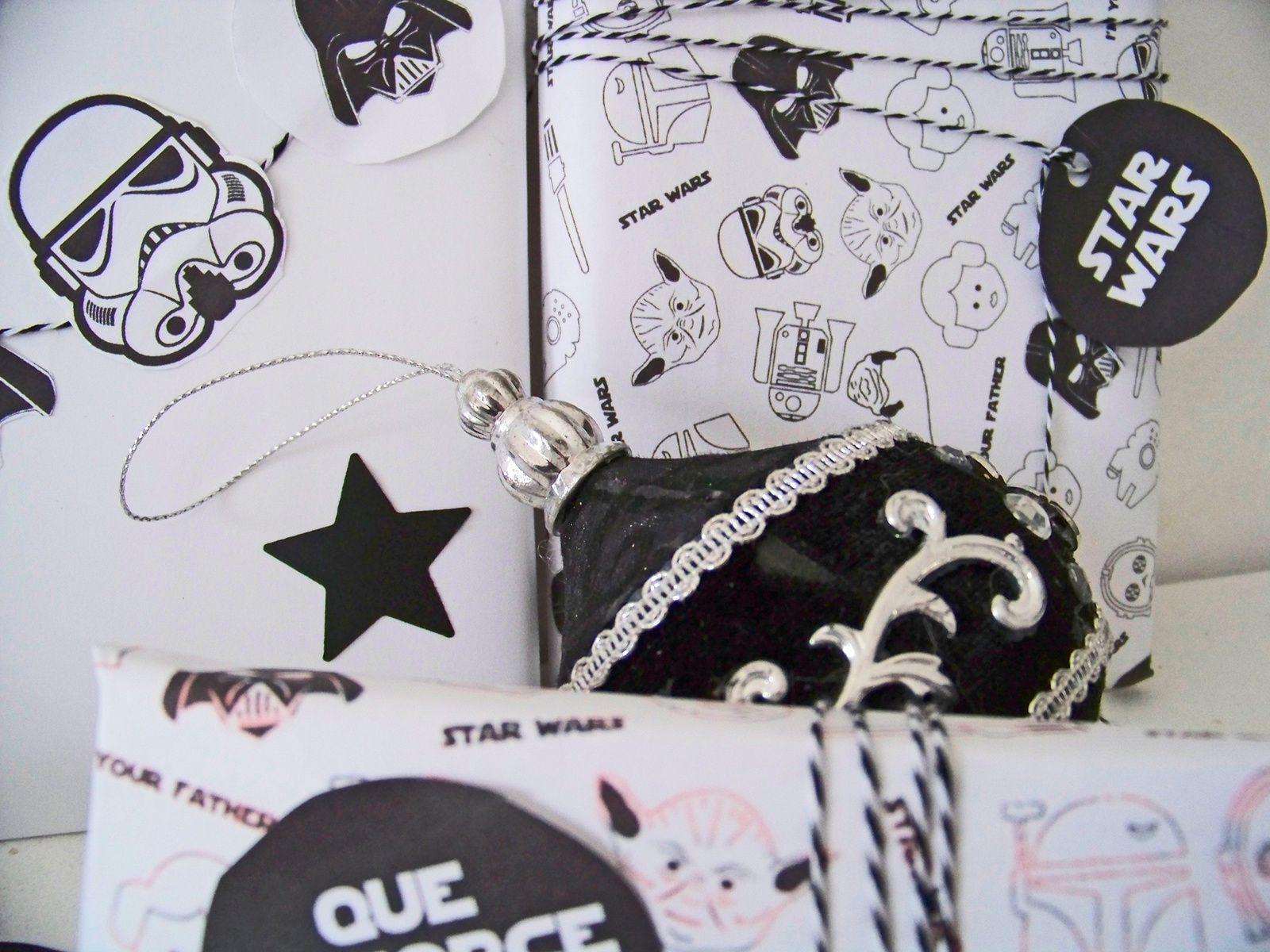 Les paquets cadeaux pour fans de Star wars !