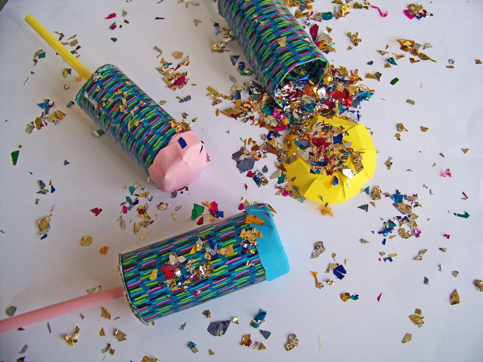 DIY: Les canons à confettis