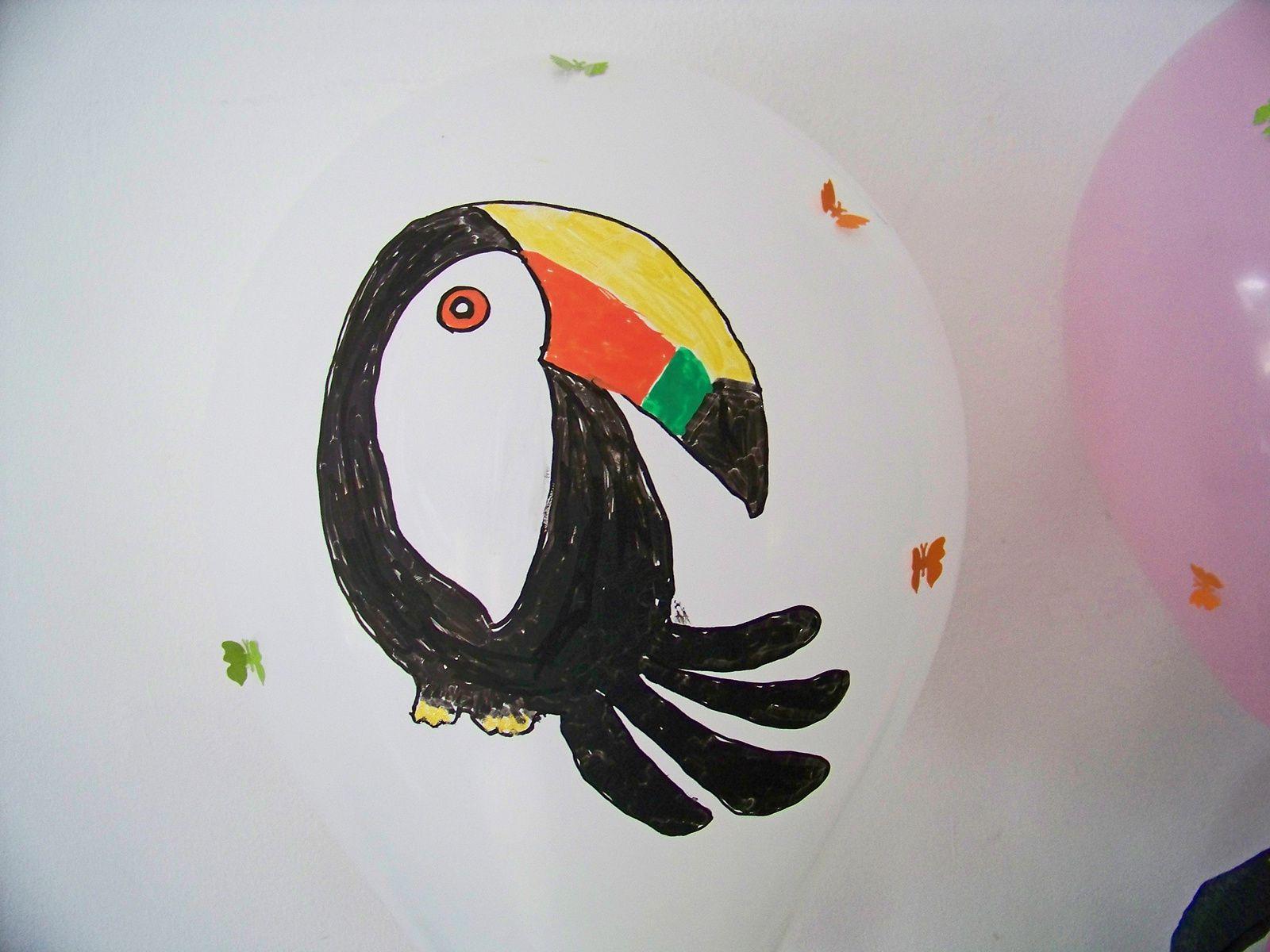 Tropicool !! les toucans pour une fête à l'ambiance exotique !