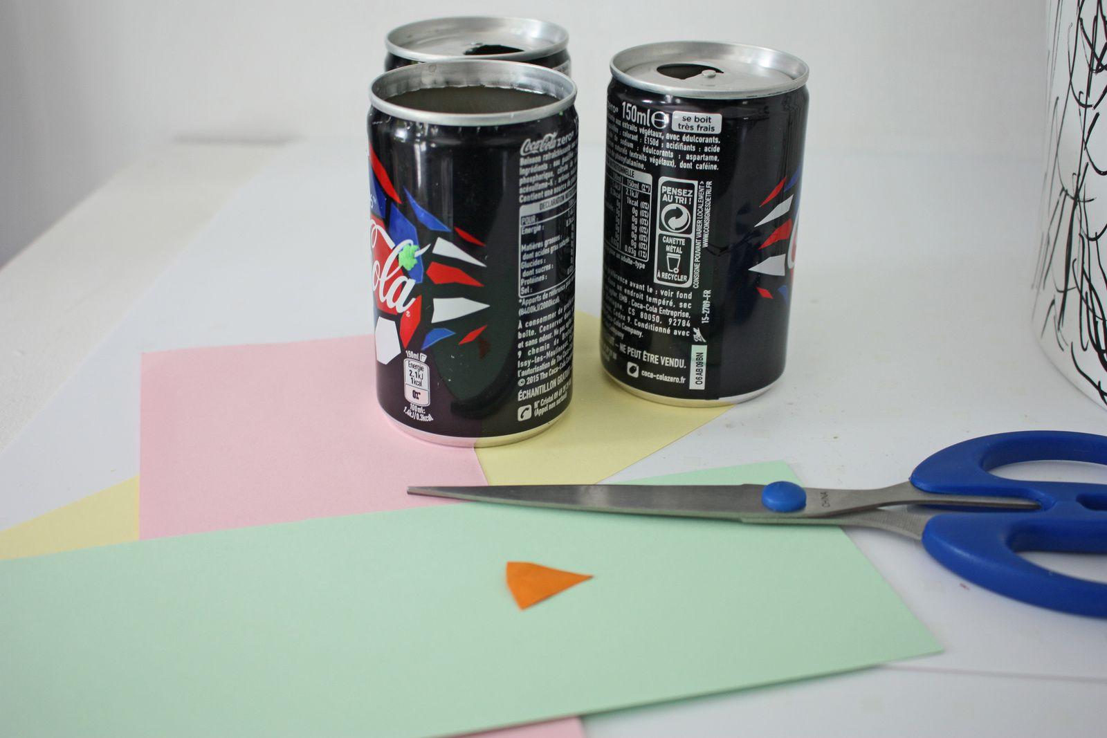 Faire un totem indien  ou comment  recycler ses canettes de soda