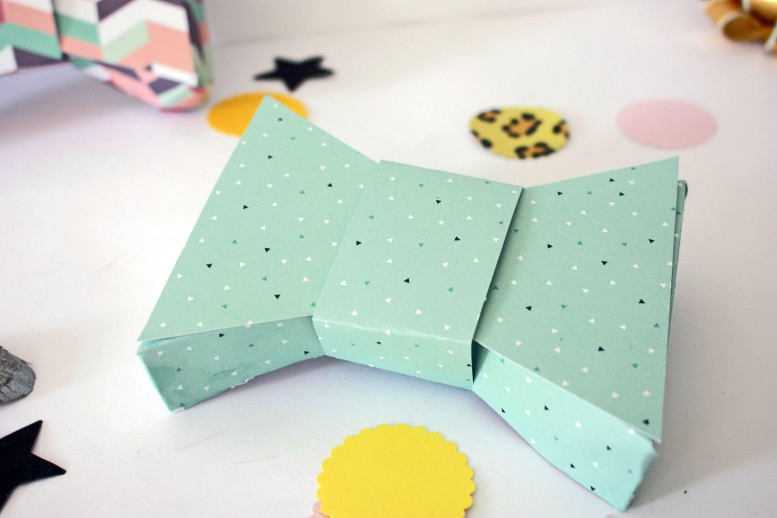 Boîtes &quot&#x3B;noeud papillon &quot&#x3B; pour la fête des pères !