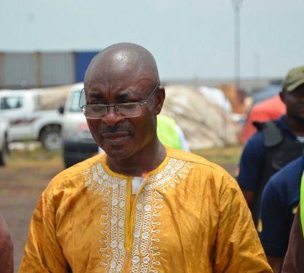 Felicien Mballa, Commandant des douanes en charges de la vente aux enchères